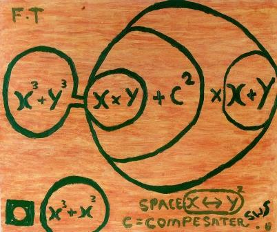 Print of Fermat's Theorem.