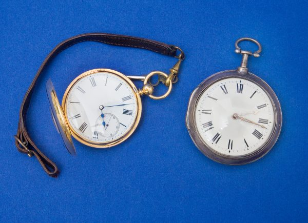 A George III Silver Pair Cased Pocket Watch.