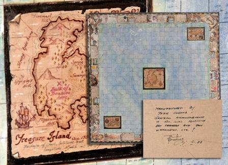 Treasure Island Board Game.