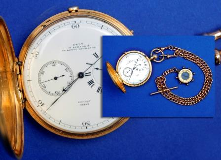 An 18ct Gold Pocket Chronometer.