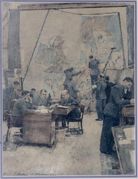Herbert Olivier Painting.
