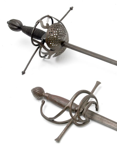 An Antique Rapier.