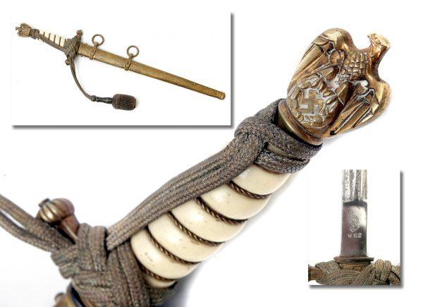 A Nazi German Kreigsmarine Dagger.