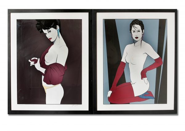 Patrick Nagel Prints.