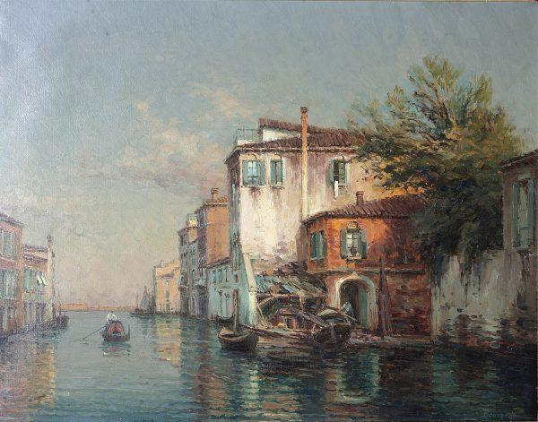 Noel Bouvard Oil Painting.