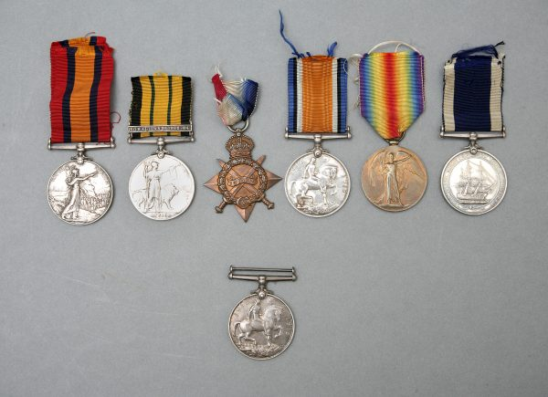 Family Group of Medals.