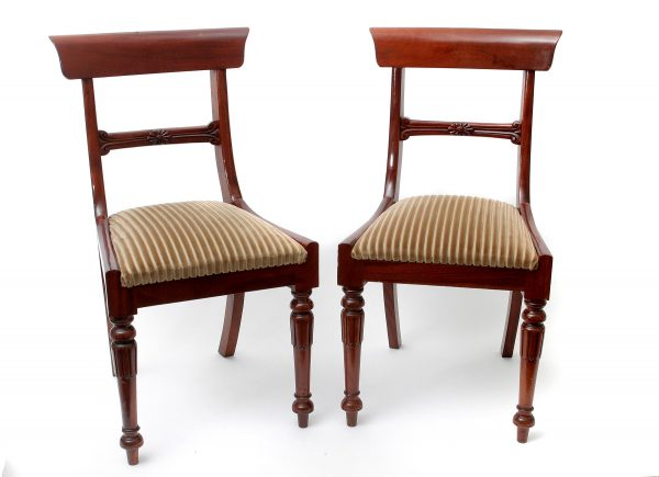 William IV Style Dining Chairs.