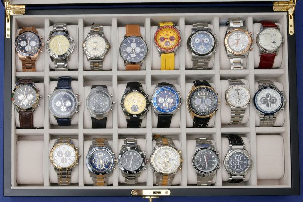 Mixed Wrist Watches and Chronographs.