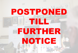 Postponed - Wednesday 8th April 2020.