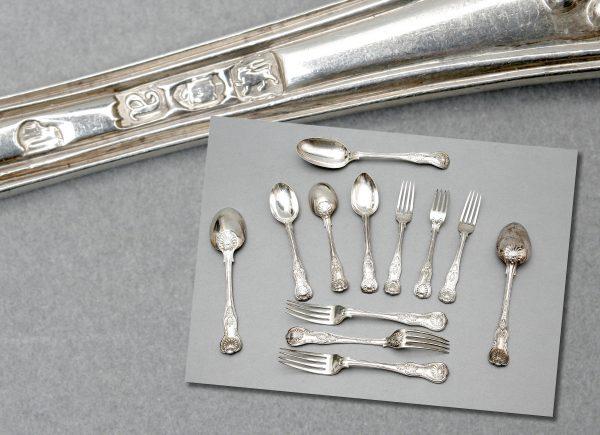 Victorian Silver Cutlery.