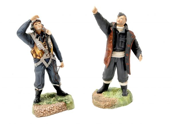 Porcelain Figure of R.A.F. Groundcrew.