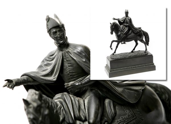 Bronze Figure of Duke of Wellington.