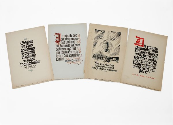 Nazi German Propaganda Posters.