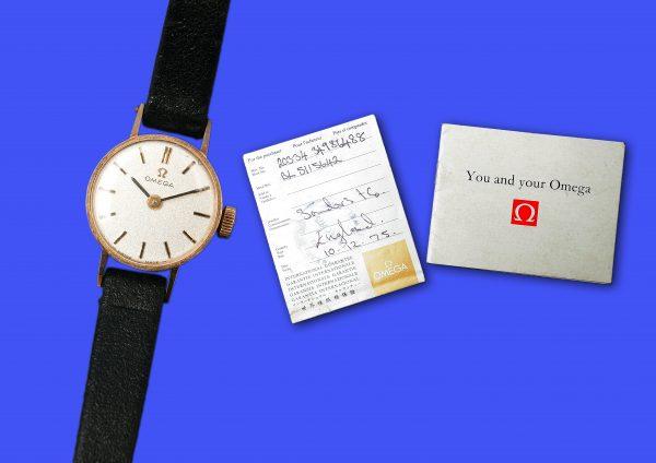 Omega Wrist Watch.
