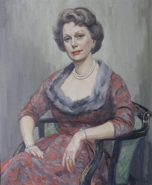Portrait of Mrs Enid Dence.