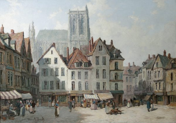 Painting of Abbeville.