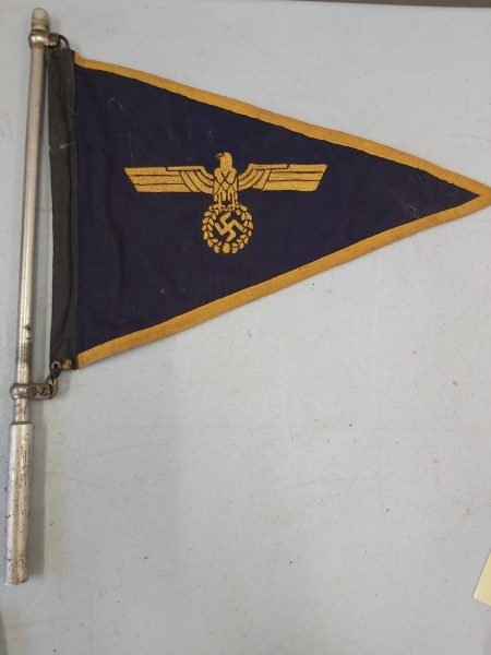 German Kriegsmarine Officer's Car Pennant.
