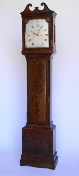 A London Longcase Clock.