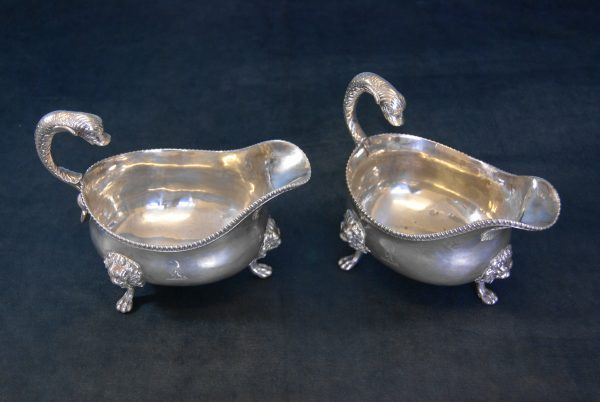 Pair of Silver Sauce Boats.