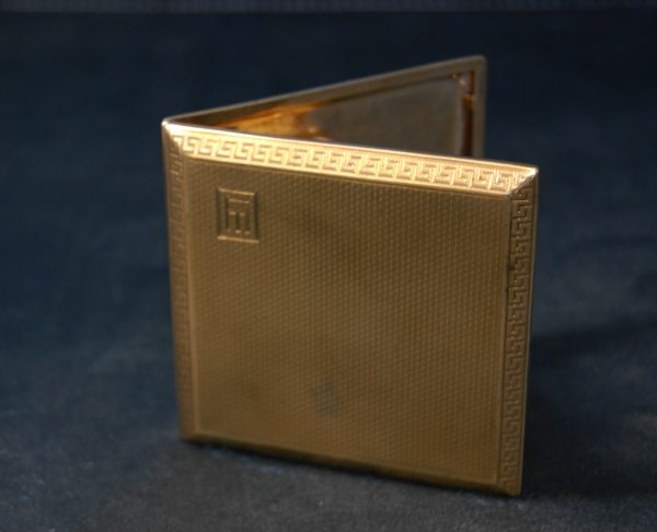 Gold Cigarette Case.