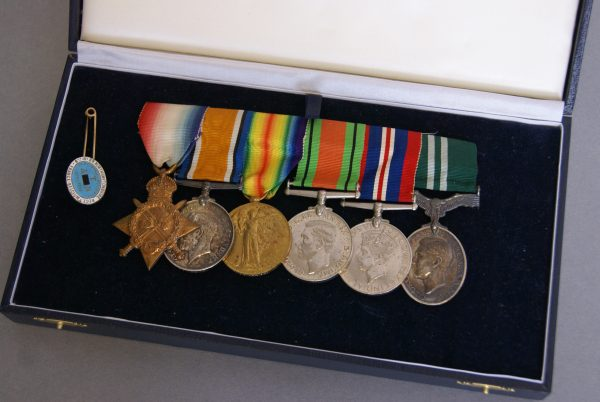 First and Second World War Medal Group.