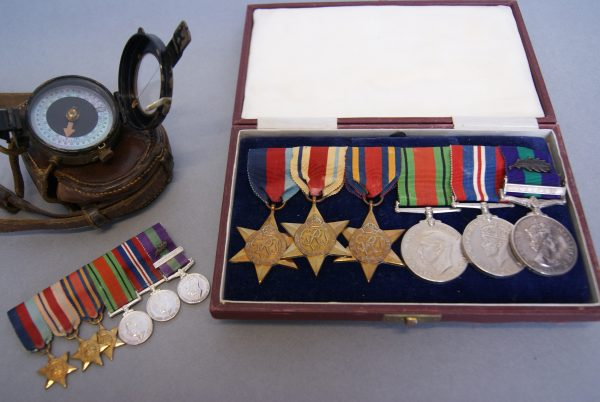 World War Two Medal Group.