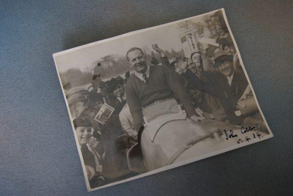 Photograph of John Cobb.