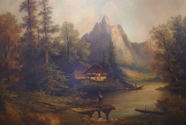 B. Muller Oil Paintings.