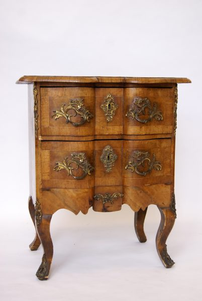 French Walnut Commode.