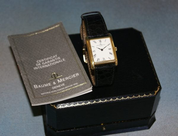 A Baume and Mercier Wrist Watch.