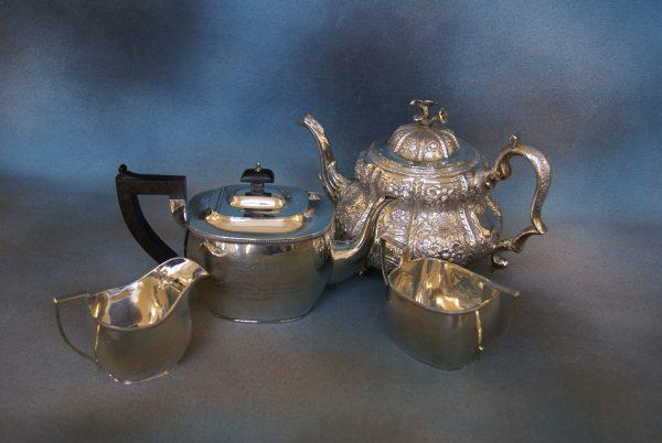 A George V Silver Tea-Set.