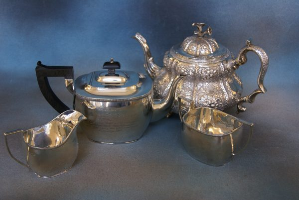 A George IV Irish Silver Tea-Pot.