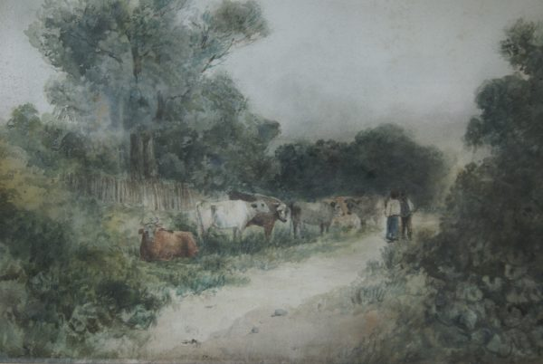 David Cox Senior Watercolour.