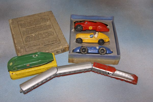 Dinky Toys Racing Car Set.