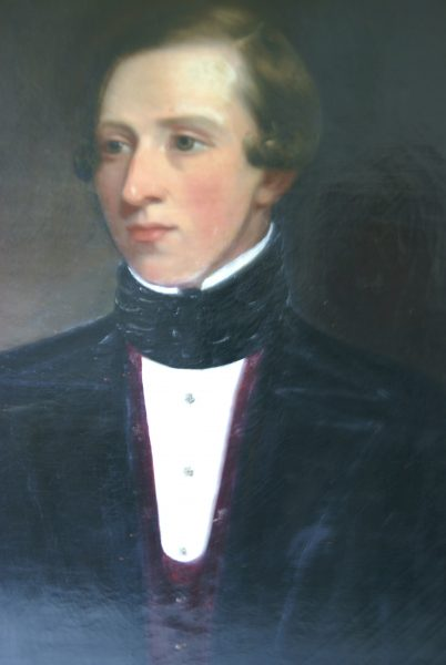 Attributed to William Allsworth Portrait.