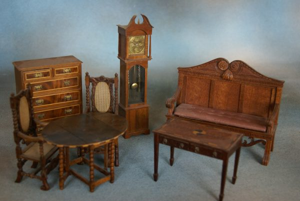 Collection of Doll's House Furniture.
