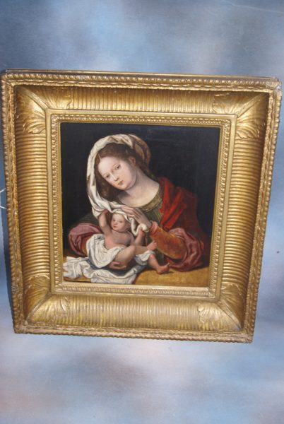 After Jan Gossaert – Madonna and Child.