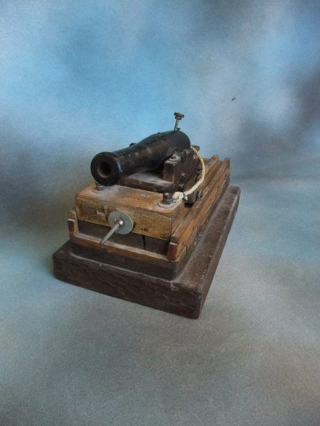 A Miniature Ship's Cannon.