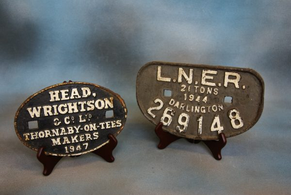 Railway Works Plate.