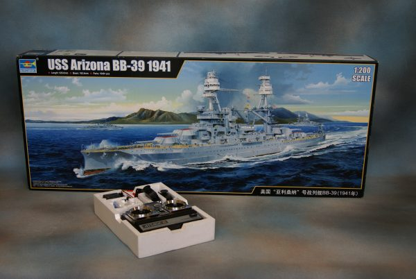 "Ship Model ""USS Arizona""."