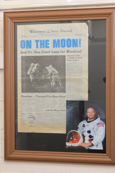 On The Moon Newspaper.