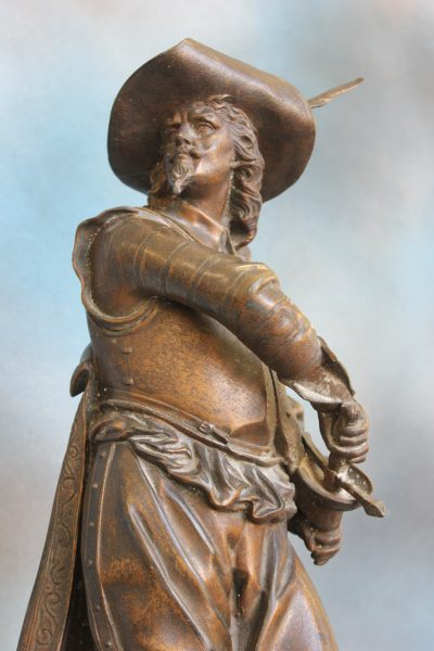 Bronze Figure of Musketeer.